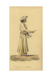 Dauk Wala or Indian Postman  in Uniform  Turban  and Slippers