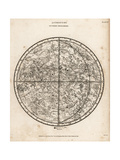 Astronomical Chart of the Southern Hemisphere