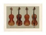 Alard and Guarnerius Del Gesu Violins by Stradivarius