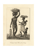 Family of African Slaves from Loango (Congo)