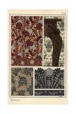 Dandelion in Art Nouveau Patterns