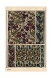 Thistle in Art Nouveau Patterns