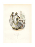 Nautch Dancing Girl of India  1831