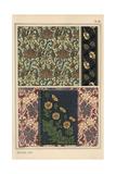 Buttercup in Art Nouveau Patterns