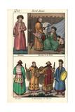 Burat People of Siberia: Woman  Hunter  Noble and Shaman