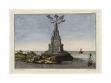 The Lighthouse at Alexandria  Egypt