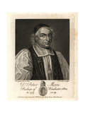 Dr Peter Mews  Bishop of Bath  1672  Bishop of Winchester  1684