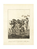 Group of Africans Imported to Be Sold for Slaves