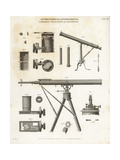 Astronomical Instruments: Achromatic Telescopes and Dynameters