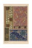 Monks Hood in Art Nouveau Patterns