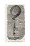 Accidental Balloon Ride of 12-Year-Old Guerin in Nantes  1845