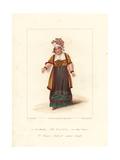 Maria Bland in Monsieur Tonson  1822