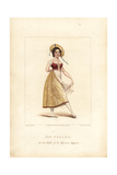 Miss Lise Noblet  Dancer in La Paysanne Supposee  1822