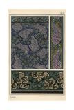 Lilac in Art Nouveau Patterns