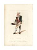 Henry Gattie in Monsieur Tonson  1822
