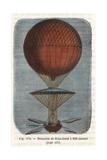 Descent of Jean-Pierre Blanchard's Balloon