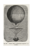 Jean-Pierre Blanchard's Balloon with Flying Boat