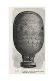 Montgolfier Balloon of the Abbot Laurent-Antoine Miollan