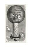 Pilatre De Rozier's Manned Montgolfier Balloon