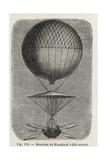 Jean-Pierre Blanchard's Balloon Descent at Billancourt  1784