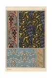 Glycine in Art Nouveau Patterns