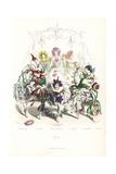 Flower Fairy Dancers at a Ball