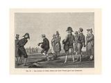 Parisians Playing a Game of Boules  Circa 1800