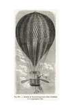 Manned Balloon Flight by Captain Vincenzo Lunardi  London  1784