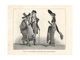 Dandies and Fashionable Women  Paris  Circa 1800
