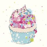 Candy Cupcake I