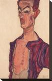 Self-Portrait  Grimacing