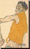 Self-Portrait in Yellow Vest  1914