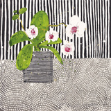 Orchid Mosaic I Giclée par Susan Brown