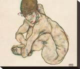 Crouching Nude Girl