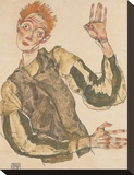 Self-Portrait with Striped Armlets