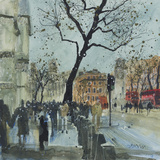 Winter Morning - Whitehall  London