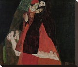 Cardinal and Nun (Caress)
