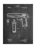 Colt 45 Patent 1911  Firearm Patent