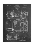 Willy's Jeep Patent Reproduction d'art
