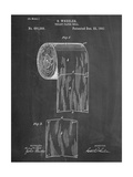 Toilet Paper Patent Reproduction d'art