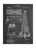 Drilling Rig Patent Reproduction d'art
