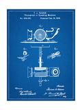 Thomas Edison Speaking Telegraph Patent