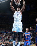 Feb 9  2014  New York Knicks vs Oklahoma City Thunder - Serge Ibaka