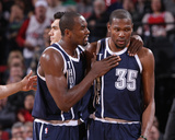 Feb 11  2014  Oklahoma City Thunder vs Portland Trail Blazers - Serge Ibaka  Kevin Durant