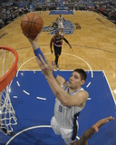Mar 25  2014  Portland Trail Blazers vs Orlando Magic - Nikola Vucevic