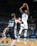 Apr 3  2014  San Antonio Spurs vs Oklahoma City Thunder - Serge Ibaka