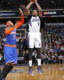 Mar 26  2014  New York Knicks vs Sacramento Kings - Rudy Gay  Carmelo Anthony