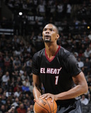 Mar 6  2014  Miami Heat vs San Antonio Spurs - Chris Bosh