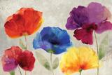 Jewel Florals Reproduction d'art par Anna Polanski