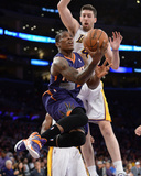 Mar 30  2014  Phoenix Suns vs Los Angeles Lakers - Eric Bledsoe  Ryan Kelly